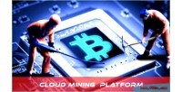 Cloud miner mining platform