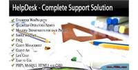Complete helpdesk solution