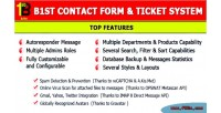 Contact php system ticket form