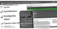 Customer beautiful support system article and