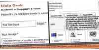 Desk help customer system ticket service