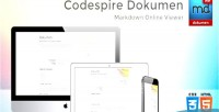 Dokumen codespire viewer markdown responsive