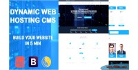 Dynamic shost template business webhosting