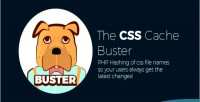 Easily buster break cache css filenames hashed with