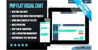 Flat php visual chat