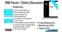 Forum wm online discussion