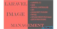 Image laravel management