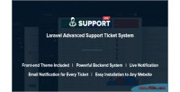 Laravel supportpro advanced system ticket support