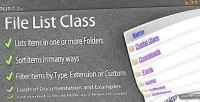 List file class