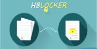 Locking hblocker files