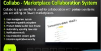 Marketplace collabo collaboration system