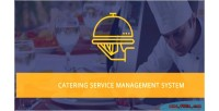 Meal catering system management delivery