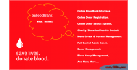 Online eblood bloodbank system management donor