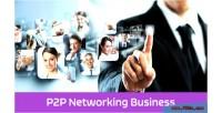 P2p enet platform business networking