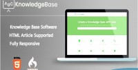 Php knowledgebase software