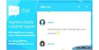 Php live chat php wordpress joomla ... drupal