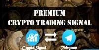 Premium cryptotsignal crypto trading currency platform sending signal