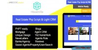 Real housevilla estate crm php & script