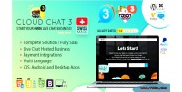 Saas fully live chat support 3 chat cloud