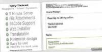 Simple keyticket system ticket support