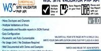 Site w3c api unofficial validator