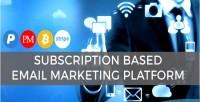 Subscription mbiz based cms marketing email