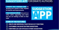 Suggestion feature app authors envato for