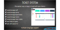 System ticket software support customer