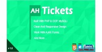 Tickets ah help system support and