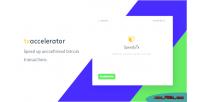 Transaction bitcoin accelerator