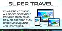Travel travo management tourism agency