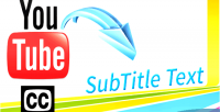 Youtube extract video script php subtitle