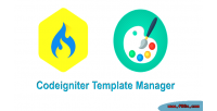 Template codeigniter manager