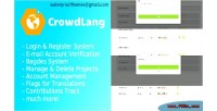 The crowdlang project translations crowd