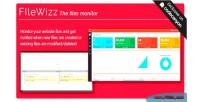 The filewizz files monitor