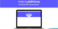 The phpdictionary ultimate platform dictionary php