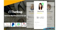 The thumbsup legend marketplace service