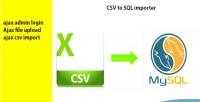 To csv sql importer