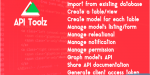Toolz api php laravel 4 v5 backend tools gui api
