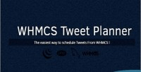 Tweet whmcs planner