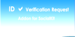 Verification id request socialkit for addon