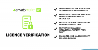 Verification licence envato system licence secure
