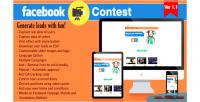 Video facebook contest
