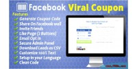 Viral facebook coupon