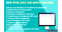 With hrm loan manager bonus and