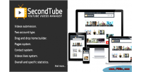 Youtube secondtube videos manager