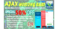 Ajax powerful hosting cart one page configure order checkout whmcs te form order