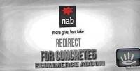 Redirect nabtransact concrete5 for gateway