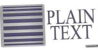 Text plain