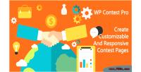 Contest wp pro a wordpress plugin create to customizable & contest responsive